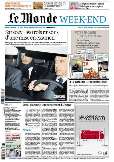Le Monde Week-End Samedi 23 Mars 2013