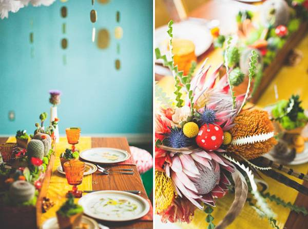 A Super Mario wedding inspiration So colorful eclectic and fun