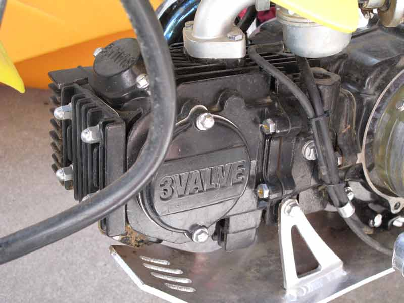 Know anything about a 3 valve motor for Anything with a motor