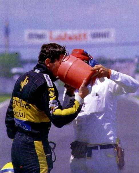 Ayrton Senna, Lotus John Player Special, 1986 Canadian Grand Prix, Circuit Gilles Villeneuve
