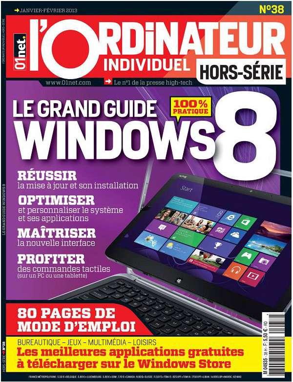 L'ordinateur individuel Hors Série N°8 Janvier Février 2013