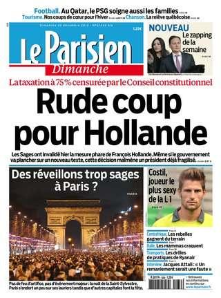 Le Parisien Dimanche 30 Décembre 2012