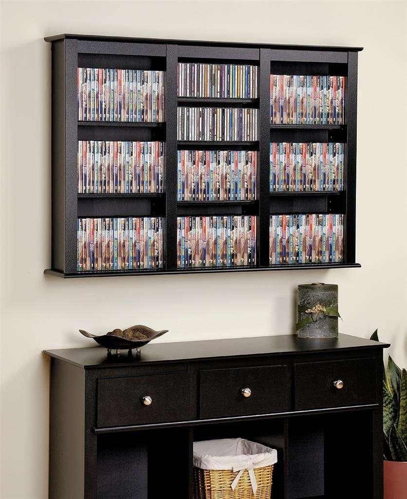 Mueble para colecci n de cds dvds juegos o libros vbf - Muebles para cd ...