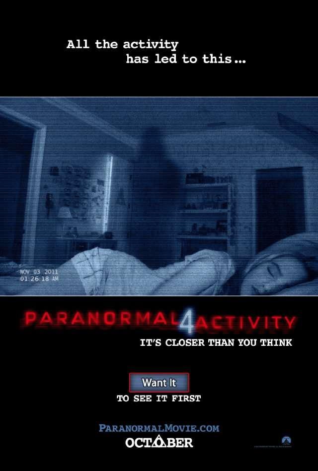 Paranormal Activity 4 - 2012 720p BRRip XviD AC3 - Türkçe Altyazılı indir